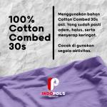 Harga Kaos Cotton Combed 30s